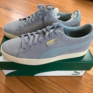 NWT Men's Puma Suede Classic Perforation Sneakers